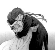 Jae-Ha abraza a Yona