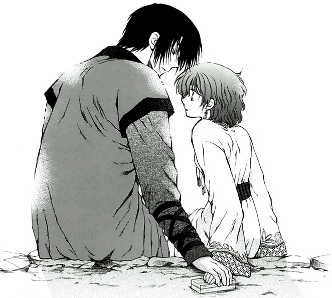 Warriors Of The Dawn Synopsis: Hak And Yona After The Fire Festival.png