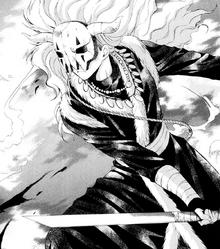 Shin-Ah while he is fighting Kum-Ji's men