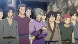 Piratas de Awa anime
