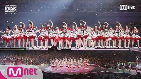 2017 MAMA in Japan AKB48&CHUNG HA&Weki Meki&PRISTIN&fromis 9&Idol School Class 1 IT'S SHOWTIME