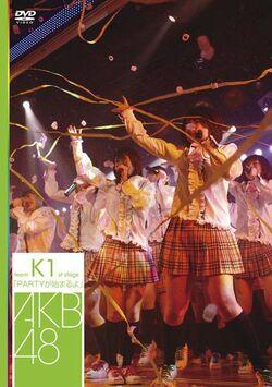 Team K 1st Stage DVD