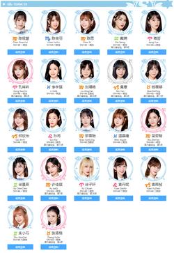 SNH48 Team SII July2019