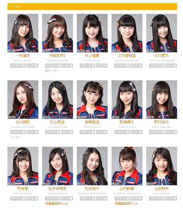 Team S | AKB48 Wiki | FANDOM powered by Wikia