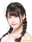 Xie Ni SNH48 Oct 2016
