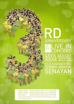 JKT48 3rd Anniversary