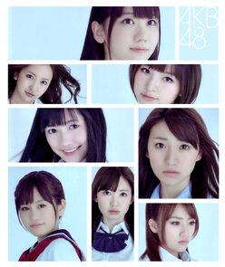 AKB48 Kami8 Manga 2011
