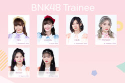 BNK48TraineeMay2020