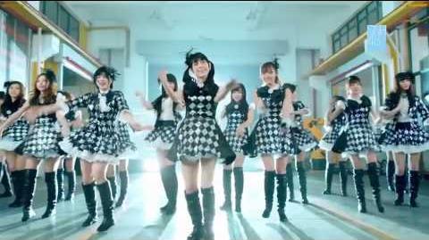 MV SNH48 Gingham Check 黑白格子裙