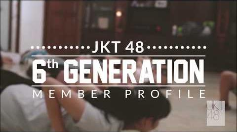 JKT48 6th Generation Profile Amanda Priscella