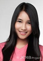 JKT48 Anggie Putri Kurniasari 2014