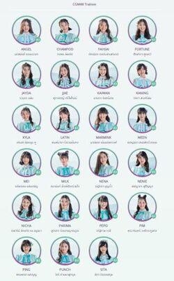 Team CGM48 Trainee March 2020
