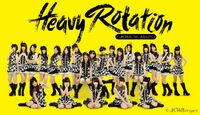 JKT48 HeavyRotation Poster