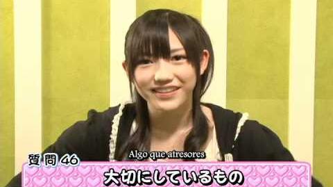 Akb48 Watanabe Mayu (sub español)