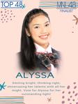 1stGE MNL48 Alyssa Nicole Garcia