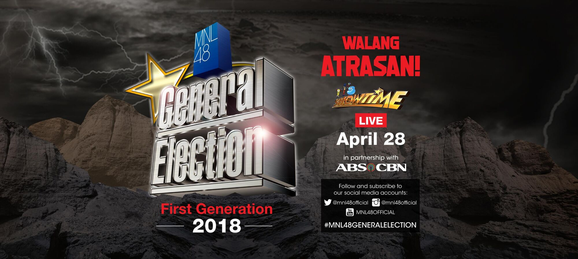 MNL48 1st General Election | AKB48 Wiki | FANDOM powered by
