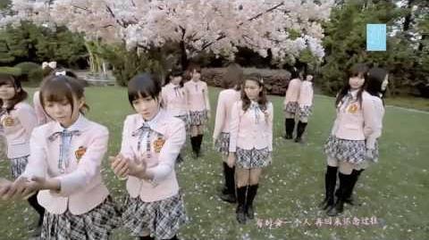 SNH48 Sakura No Ki Ni Narou MV 《化作樱花树》 「桜 の 木 に なろ う」