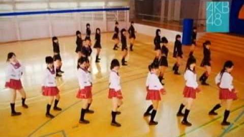 CM AKB48「 スカート、ひらり」