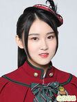 Wang SiYue GNZ48 Dec 2017