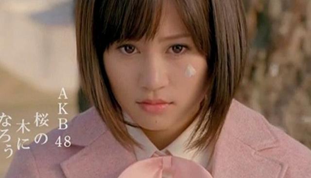 AKB48 桜の木になろう CM