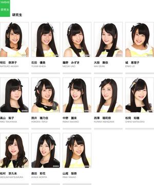 NMB48Kenkyuusei2014