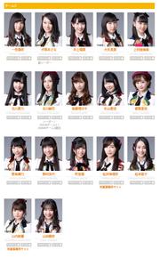 SKE48 Team S Oct 2017