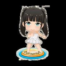 Yamada Mizuho White Dress S