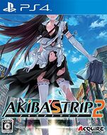Akiba's Trip 2 PS4 Japan Cover Art