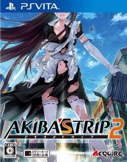 Akiba's Trip 2 (PS Vita Cover)