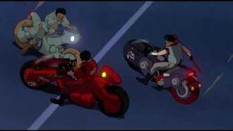 (60fps Test) Akira opening bike scene BD