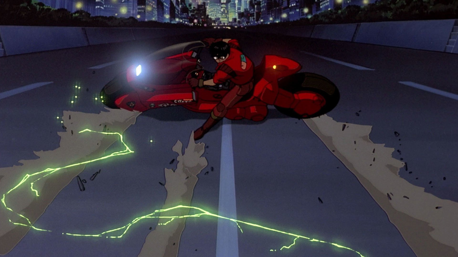 Image result for akira bike