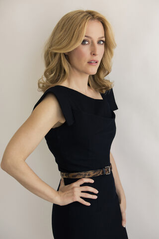 Gillian Anderson Größe