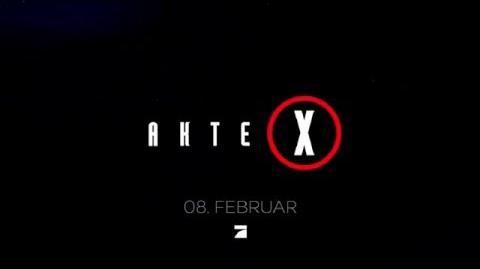 Akte X ProSieben 3. TEASER - 08. Februar (German)