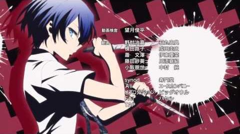 Akuma no Riddle Ending ED - Queen by 10th Grade Black Class Riddle Story of Devil