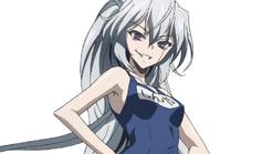 Shinya in swimsuit ending