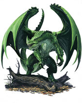 Young green dragon by benwootten-d567yhy