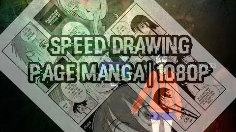 Speed Drawing Dessin d'une page de manga AP 2