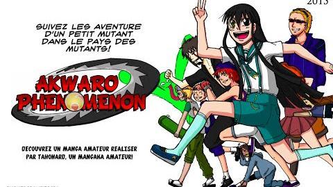 "2°Trailer ""Akwaro Phenomenon"" manga amateur"