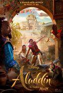 Aladdin 2019 Read 3D Poster