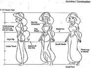 Jasmine model sheet 2