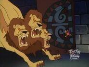 Giant Three Headed Lion 1
