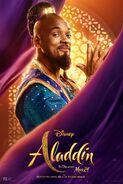 Genie LA Aladdin Poster