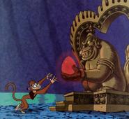 Shiva Monkey in storybook
