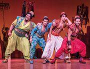 Babkak, Omar, Aladdin and Kassim
