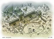 Palace Garden concept art