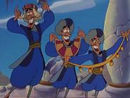 Three little thieves