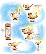 Lamp forms concept art