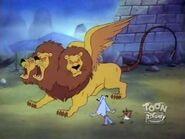 Giant Three Headed Lion 10