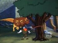 Giant Three Headed Lion 13