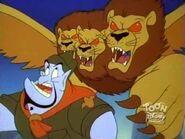 Giant Three Headed Lion 16